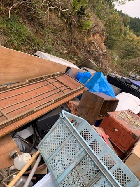 京都 不用品回収 大量ごみ 作業記録